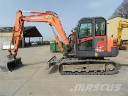 daewoo solar s75v crawler excavators year of manufacture 2008