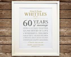 60th anniversary gifts 60th anniversary gift diamond anniversary anniversary gift