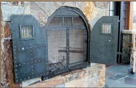 fireplace screen doors binhminh decoration