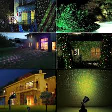 outdoor laser lights waterproof projection light red and green