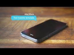 text bubbles galore after effects template youtube