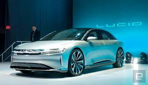 car range lucid motors unveils its 400 mile range luxury ev