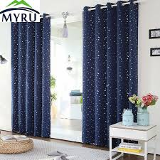 Blackout Navy Curtains Myru Thermal Insulated Heating Against Curtains Modern Navy