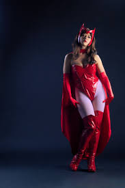 scarlet witch original costume x men scarlet witch costume with cape cosercosplay com