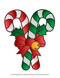 Christmas Candy Craft - holiday candy clipart 59