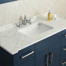 Bathroom Grey Quartz Bathroom Countertop AIRMAXTN - Quartz bathroom countertops with sinks