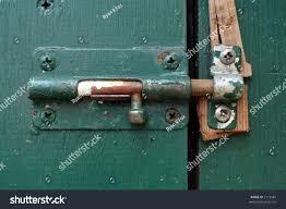 exterior basement door latch stock photo 2171481 shutterstock