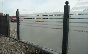 balkon sichtschutz aus glas glaszäune infos hornbach