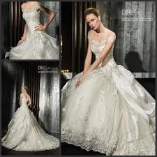cheap elegant off shoulder lace victorian ball gown wedding dress