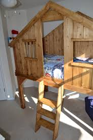 Making Wooden Bunk Beds by Ana White Clubhouse Bed My First Build Diy Projects