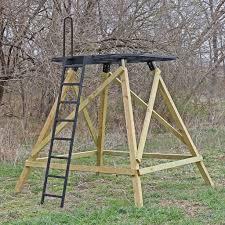 How To Make A Hay Bail Blind Diy Platform U0026 Ladder Kit For Redneck Blinds Soft Sided Blinds