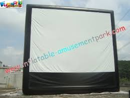 Rental Christmas Decorations Outdoor by Large Inflatable Projection Screen Outdoor Movie Theater For