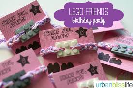 party favor bracelets party bliss lego friends birthday party lego friends birthday