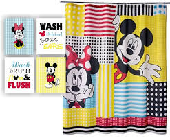 mickey mouse bathroom ideas minnie mouse curtains free home decor techhungry us