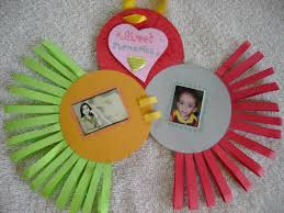 creative hands colourful frame for kids