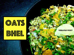 oats recipe for weight loss oats bhel savoury oats recipe