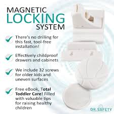 Magnetic Locks For Cabinets Protect With Dr Safety Baby Magnetic Locks For Cabinets U0026 Drawers