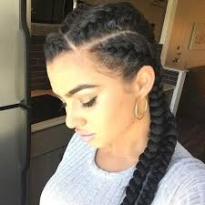 braided pin up hairstyle for black women image result for box braids edges left out hairstyles
