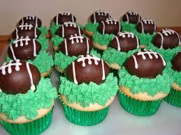 football cupcakes cake decorating ideas football themed birthday cake and cupcake