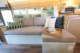 why you should live in an rv outside found bus conversion tour outside found