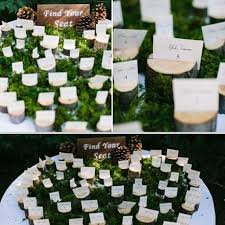 table top place card holders 10pcs vintage wooden wedding name place card holders wedding photo
