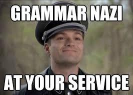 Grammar Correction Meme - the top 10 best blogs on grammar nazi