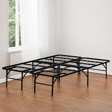 Metal Bed Frame No Boxspring Needed Metal Bed Frame Box Exciting And Mattress Metalo Or