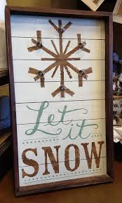 let it snow on this 5th day of christmas this amazing sign will