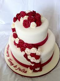 ruby wedding cakes ruby wedding cake paula williams flickr