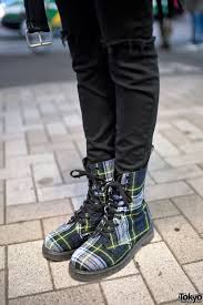 cool biker boots harajuku in leather biker jacket spinns top u0026 george cox boots