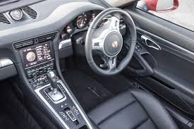 porsche 911 inside driven porsche 911 targa 4 review