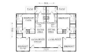 Duplex Townhouse Plans Duplex House Plans Home Design With Duplex House Plans Decor Image