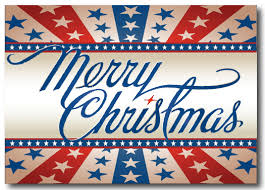 patriotic christmas cards patriotic merry christmas postcard pc612 harrison greetings