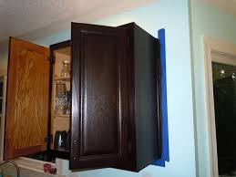 Kitchen Cabinet Restaining by Confessions Of A Semi Domesticated Mama How To Gel Stain Your