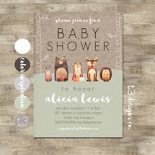woodland baby shower invitations woodland baby shower invitation forest animals gender neutral