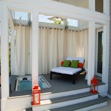 Outdoor Privacy Curtains Outdoor Privacy Curtains With Modern Patio Design Also Corner