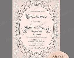 vintage music note invitation 21st birthday invitation any