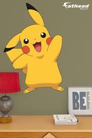 11 best cash s pokemon room images on pinterest bedroom ideas pikachu fathead jr