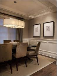Dining Room Interior Design Ideas Ideas U0026 Tips Wainscoting Ideas With Double Lamp And Mirror On