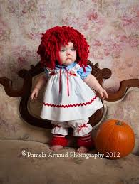 Raggedy Ann Andy Halloween Costumes Adults Creative Raggedy Ann Baby Costume