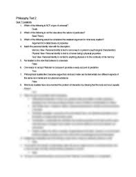 philosophy test 2 study guide docx philosophy 201 with abell at