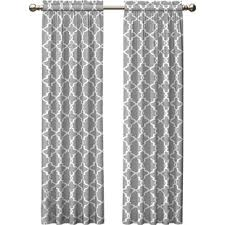 Grey And White Curtains Gray And Silver Curtains Drapes You Ll Wayfair