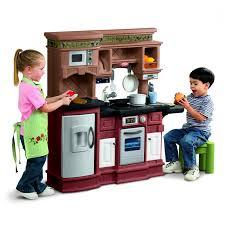 Toy Kitchen Set For Boys Kidkraft Uptown Natural Play Kitchen 53298 Hayneedle