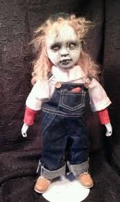 Scary Baby Doll Halloween Costume Chucky Doll Living Dead Dolls Voodoo Dolls Ugly Dolls
