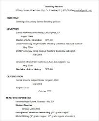 Usc Resume Template Resume In Word Template 19 Free Word Pdf Documents Download
