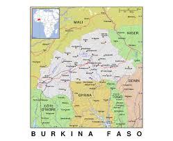 Ou Map Maps Of Burkina Faso Detailed Map Of Burkina Faso In English
