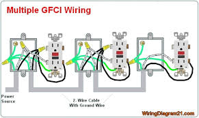 outlet wiring diagram multiple wiring diagram