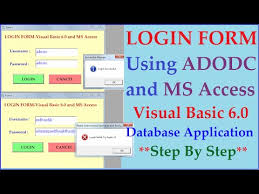 visual basic advanced tutorial download advanced login system using visual basic 60 and ms access