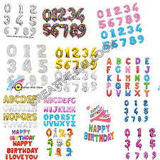 balloon wholesale yiwu supplies foil mylar letter balloon alphabet number