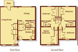 Georgetown Floor Plan The Georgetown Apartment Homes Indianapolis In Apartment Finder